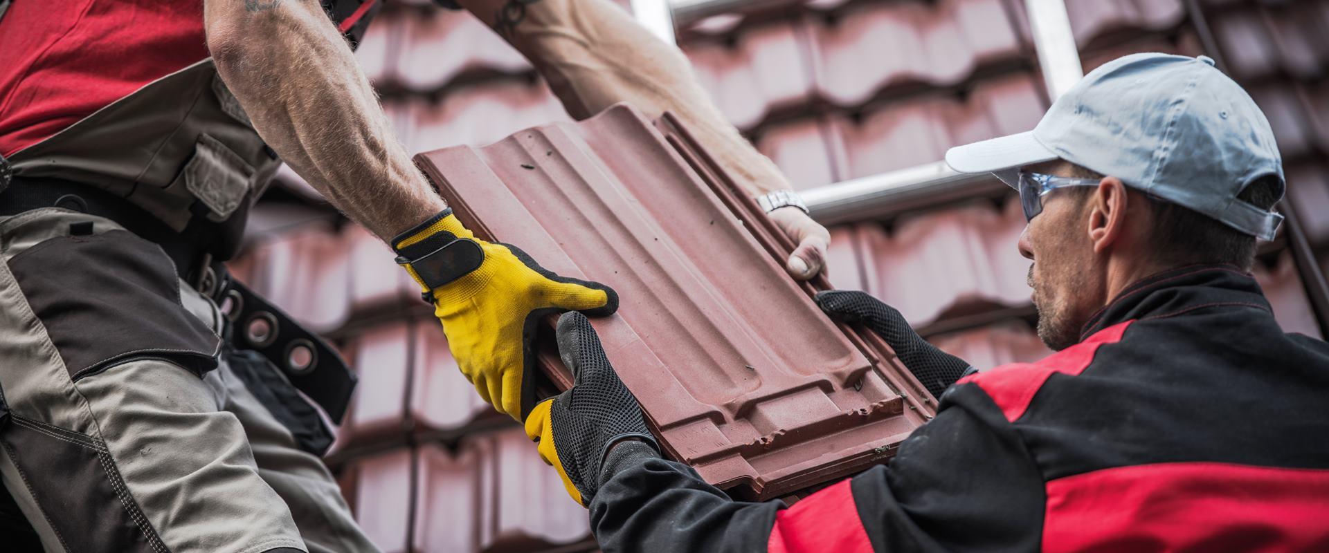 Fachgerechtes Verlegen der Dachziegel