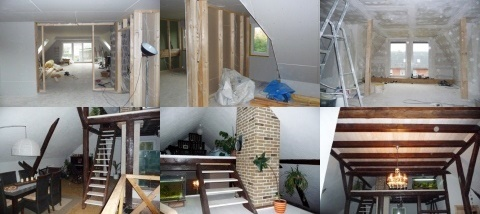 Innenausbau im Haus