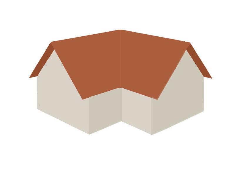 Satteldach erweitert